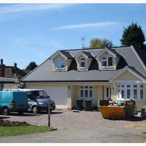 Bungalow extension in Lower Stondon
