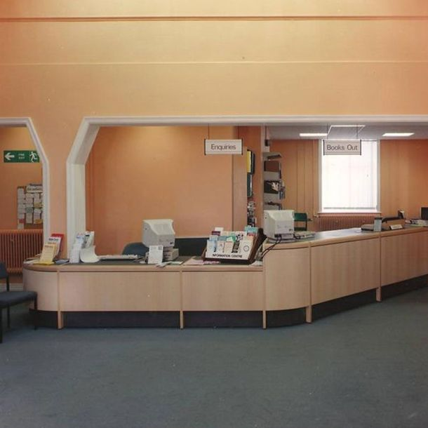 Convert an old office to the Ampthill Library