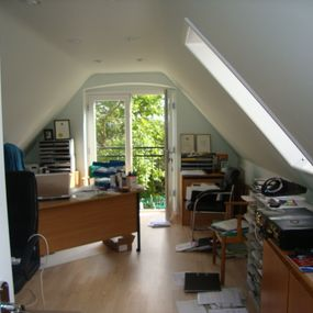 Loft conversion in Moggerhanger